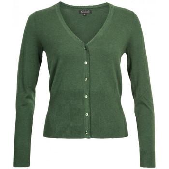 Vêtements Femme Gilets / Cardigans King Louie Cardigan V Cocoon Forest Green 25