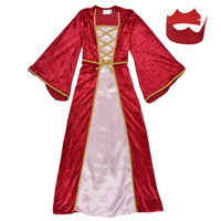 Vêtements Fille Déguisements Fun Costumes COSTUME ENFANT REINE DE LA RENAISSANCE Multicolore
