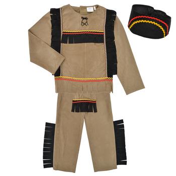 Vêtements Garçon Déguisements Fun Costumes COSTUME ENFANT INDIEN BIG BEAR Multicolore