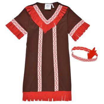 Vêtements Fille Déguisements Fun Costumes COSTUME ENFANT INDIENNE FOX KITTEN Multicolore