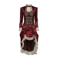 Vêtements Femme Déguisements Fun Costumes COSTUME ADULTE LADY STEAMPUNK Multicolore
