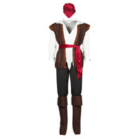 Vêtements Homme Déguisements Fun Costumes COSTUME ADULTE PIRATE THUNDER Multicolore