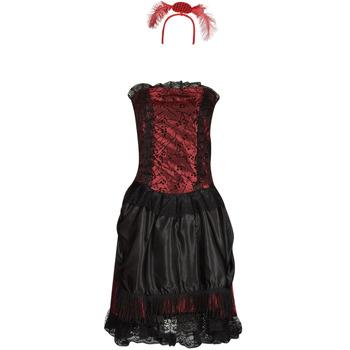 Vêtements Femme Déguisements Fun Costumes COSTUME ADULTE SALOON GIRL Multicolore
