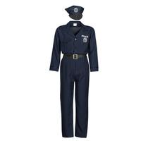 Vêtements Homme Déguisements Fun Costumes COSTUME ADULTE OFFICIER DE POLICE Multicolore