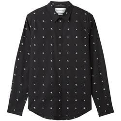 Vêtements Homme T-shirts manches longues Calvin Klein Jeans Unlimited logo Noir