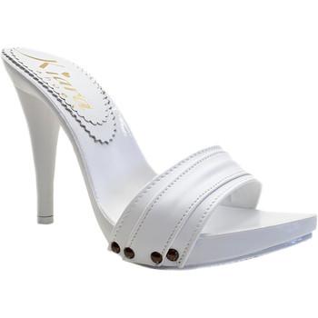 Chaussures Femme Sabots Kiara Shoes KM7401 Blanc