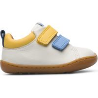 Chaussures Fille Baskets mode Camper Baskets cuir PEU CAMI blanc