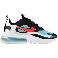 Chaussures Femme Baskets basses Nike Air Max 270 React Blanc, Noir, Bleu