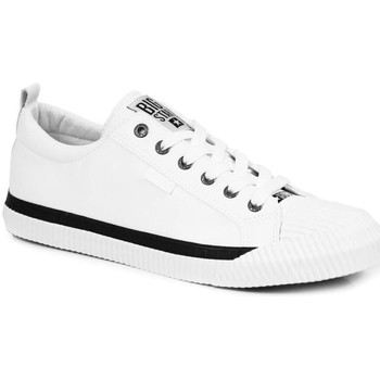 Chaussures Homme Baskets basses Big Star INT1403B Blanc