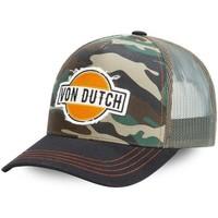 Accessoires textile Homme Casquettes Von Dutch ABAN vert