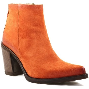 Chaussures Femme Bottines Emanuele Crasto 5040 Orange