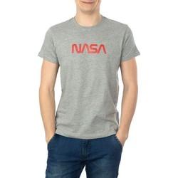 Vêtements Homme T-shirts manches courtes Nasa BIG WORM O NECK Gris