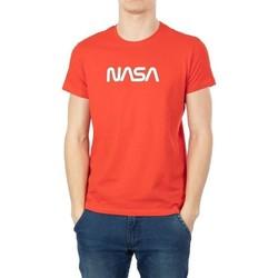 Vêtements Homme T-shirts manches courtes Nasa BIG WORM O NECK Rouge