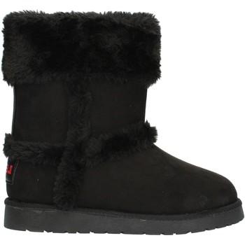 Chaussures Fille Bottines Levi's TIDEVWAV Noir