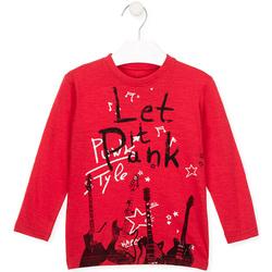 Vêtements Enfant T-shirts manches longues Losan 026-1001AL Rouge