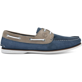 Chaussures Homme Chaussures bateau Seajure Chaussures Bateau Vicentina Chameau et Bleu