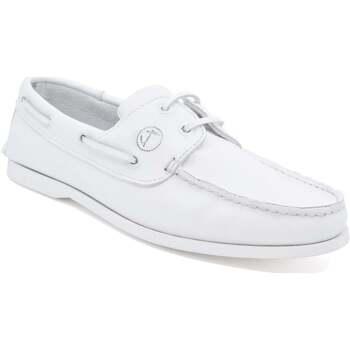 Chaussures Homme Chaussures bateau Seajure Chaussures Bateau Knude Blanc