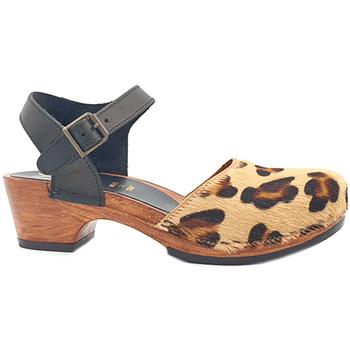 Chaussures Femme Sandales et Nu-pieds My Clogs MY720 Leopard