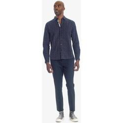 Vêtements Homme Pantalons Japan Rags Pantalon steny  bleu- noir BLACK