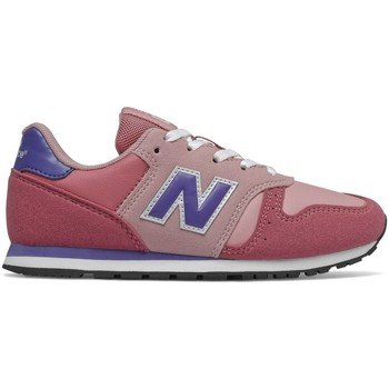 Chaussures Fille Baskets mode New Balance YC373 M ROSE