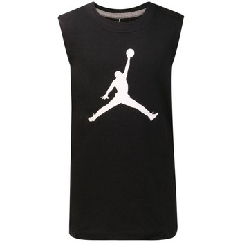 Vêtements Enfant T-shirts manches courtes Air Jordan -  T-shirt sans manche - Enfants Noir