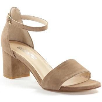 Chaussures Femme Escarpins Sofia Costa 8372.S19 Taupe