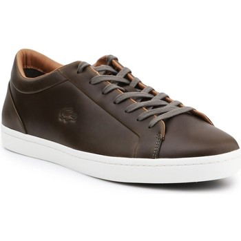 Chaussures Homme Derbies & Richelieu Lacoste Straightset 316 3 Cam Marron