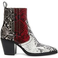 Chaussures Femme Boots Steve Madden SMSGENIVA-BRGGRY Noir
