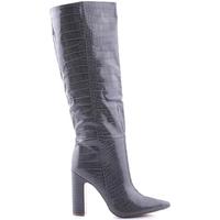Chaussures Femme Boots Steve Madden SMSROUGE-GRYCRO Gris