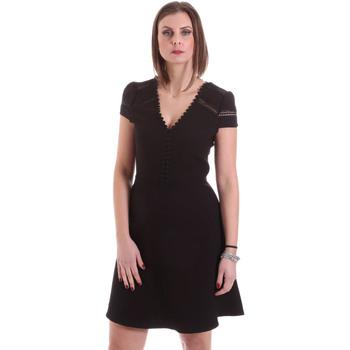 Vêtements Femme Robes courtes Dixie A529M068 Noir
