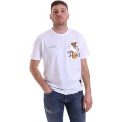 Vêtements Homme T-shirts manches courtes Disclaimer 21EDS50512 Blanc