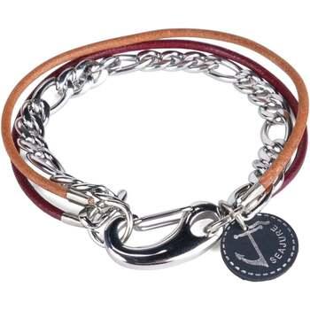 Montres & Bijoux Homme Bracelets Seajure Bracelet Guam Marron