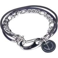 Montres & Bijoux Homme Bracelets Seajure Bracelet Faroe Bleu marin