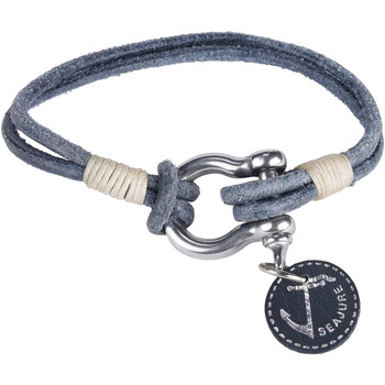 Montres & Bijoux Homme Bracelets Seajure Bracelet Gambier Bleu