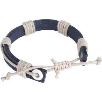 Montres & Bijoux Homme Bracelets Seajure Bracelet Motuo Bleu marin
