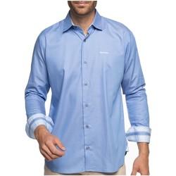 Vêtements Homme Chemises manches longues Shilton Chemise manches longues basique CLUB Bleu ciel