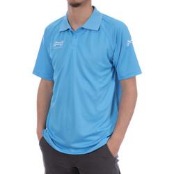 Vêtements Homme Polos manches courtes Hungaria H-15TMUXD000 Bleu