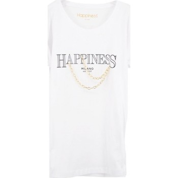 T-shirt Superbes chaines en te blanches HAPSPLDALA - Happiness - Modalova