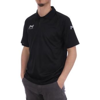 Vêtements Homme Polos manches courtes Hungaria H-15TMUXD000 Noir