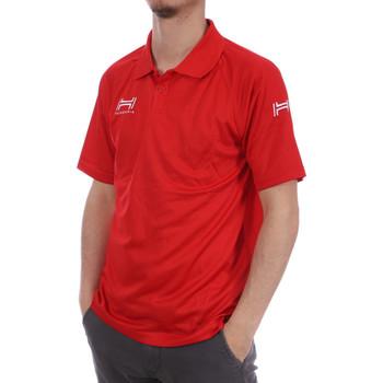 Vêtements Homme Polos manches courtes Hungaria H-15TMUXD000 Rouge