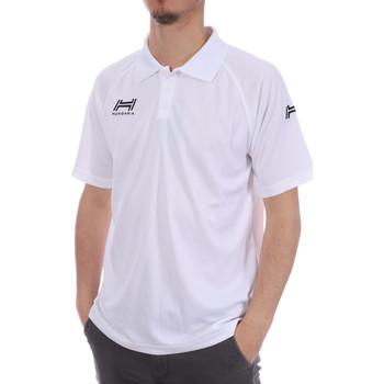 Vêtements Homme Polos manches courtes Hungaria H-15TMUXD000 Blanc