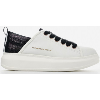 Chaussures Femme Baskets basses Alexander Smith WEMBLEY bianco-nero