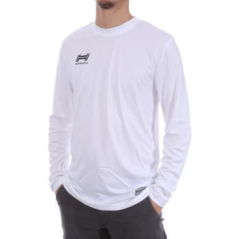 Vêtements Homme T-shirts manches longues Hungaria H-15TMUUCA00 Blanc