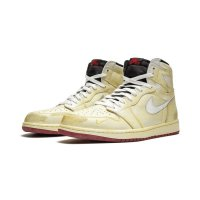 Chaussures Baskets montantes Nike Air Jordan 1 High x Nigel Sylverster Sail/White-Varsity Red-Reflect Silver
