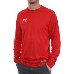 Vêtements Homme T-shirts manches longues Hungaria H-15TMUUCA00 Rouge