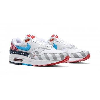 Chaussures Baskets basses Nike Air Max 1 x Parra White/Pure Platinum