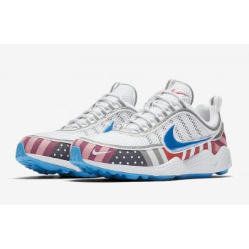 Chaussures Baskets basses Nike Zoom Spiridon x Parra White/Multi-Color