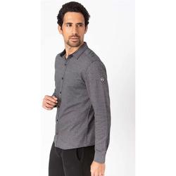 Vêtements Homme Chemises manches longues TBS OTTONCHE Noir