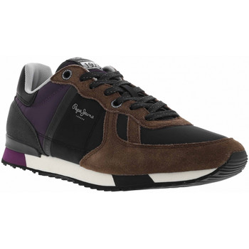 Chaussures Homme Baskets mode Pepe jeans CH TINKER ZERO SECOND Marron