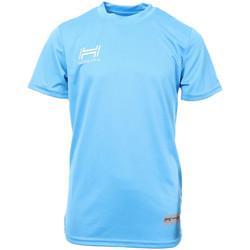 Vêtements Homme T-shirts manches courtes Hungaria H-15TMJUBA00 Bleu